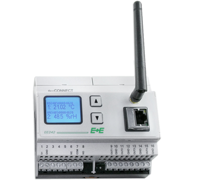 estacion base para configurar wireless y medir datos, EE242