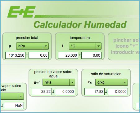 Calculadora calcular la humedad relativa - Aparato para la humedad ...